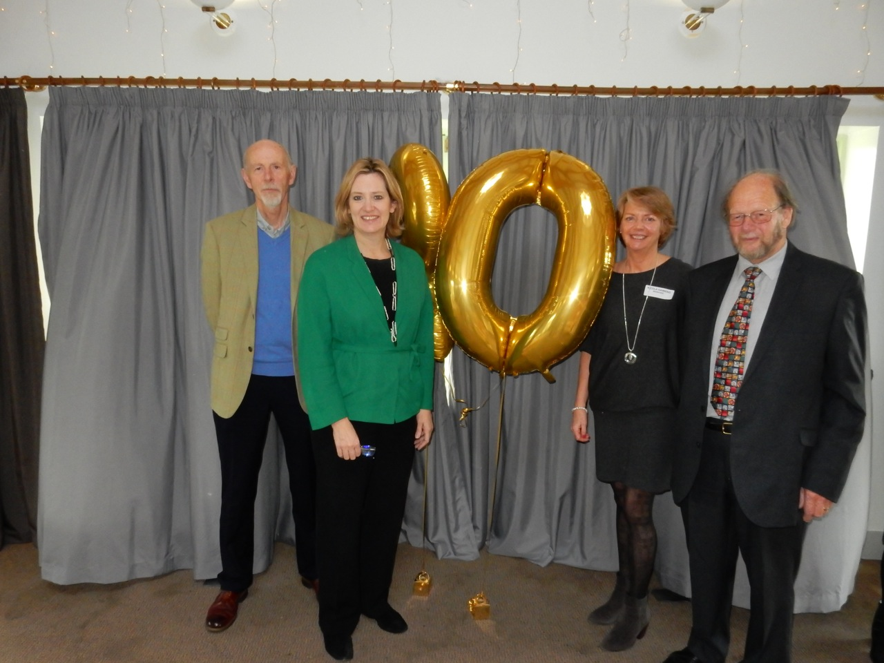 Amber Rudd visits Mediation East Sussex AGM